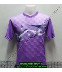 เสื้อกีฬา สปอร์ต เดย์ SPORT DAY รุ่น SA002 (สีม่วง LฺV ) พิมพ์ลาย