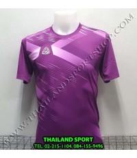 เสื้อ อีโก้ EGO SPORT รุ่น EG-5116 (สีม่วง) พิมพ์ลาย