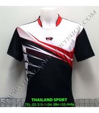 เสื้อกีฬา NAP SPORT รุ่น 15 (สีดำ) พิมพ์ลาย
