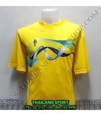 เสื้อกีฬา สปอร์ต เดย์ SPORT DAY รุ่น SA002 (สีเหลือง YG ) พิมพ์ลาย