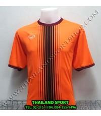 เสื้อกีฬา แกรนด์ สปอร์ต Grand Sport รุ่น 11-464 (สีส้ม) พิมพ์ลาย