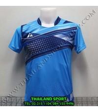 เสื้อกีฬา ที-ทีม  T-TEAM  รุ่น 08 (สีฟ้า) พิมพ์ลาย
