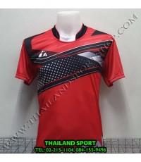 เสื้อกีฬา ที-ทีม  T-TEAM  รุ่น 08 (สีแดง) พิมพ์ลาย