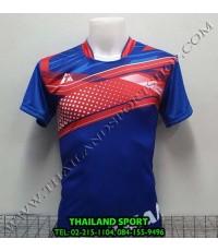เสื้อกีฬา ที-ทีม  T-TEAM  รุ่น 08 (สีน้ำเงิน) พิมพ์ลาย