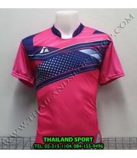 เสื้อกีฬา ที-ทีม  T-TEAM  รุ่น 08 (สีชมพู) พิมพ์ลาย