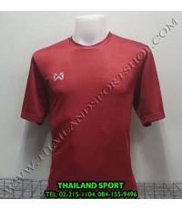 เสื้อกีฬา วอริค WARRIX รหัส WA 1568 (สีแดง RR)