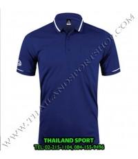 เสื้อ POLO SHIRT อีโก้ รุ่น EG 6151 (สีกรม) MAN