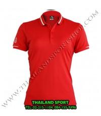 เสื้อ POLO กีฬา อีโก้ EGO SPORT รุ่น EG 6148 (สีแดง) WOMEN
