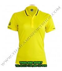 เสื้อ POLO กีฬา อีโก้ EGO SPORT รุ่น EG 6148 (สีเหลือง) WOMEN