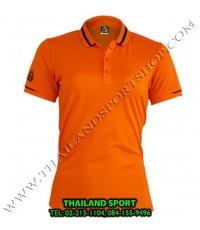 เสื้อ POLO กีฬา อีโก้ EGO SPORT รุ่น EG 6148 (สีส้มปูน) WOMEN