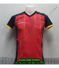เสื้อกีฬา ยูเรก้า EUREKA รุ่น A5033 (สีแดง RA) พิมพ์ลาย