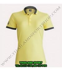 เสื้อ POLO SHIRT อีโก้ EGO SPORT รุ่น EG 6148 (สีเหลือง) WOMEN