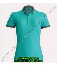เสื้อ POLO SHIRT อีโก้ EGO SPORT รุ่น EG 6148 (สีเขียว) WOMEN