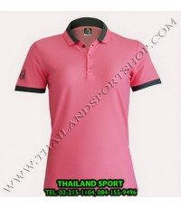 เสื้อ POLO SHIRT อีโก้ EGO SPORT รุ่น EG 6148 (สีชมพู) WOMEN