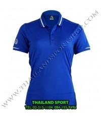 เสื้อ POLO SHIRT อีโก้ EGO SPORT รุ่น EG 6152 (สีน้ำเงิน) WOMEN