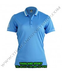 เสื้อ POLO SHIRT อีโก้ EGO SPORT รุ่น EG 6152 (สีฟ้า) WOMEN