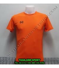 เสื้อกีฬา วอริค WARRIX รหัส WA 1559 (สีส้ม OO)