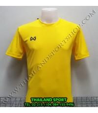 เสื้อกีฬา วอริค WARRIX รหัส WA 1568 (สีเหลือง YY) ผ้าทอลาย
