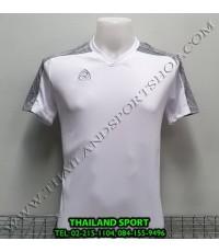 เสื้อ อีโก้ EGO SPORT รหัส EG-5122 (สีขาว) คอวีตัดต่อ