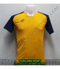เสื้อกีฬา อีโก้ EGO SPORT รหัส EG 5126 (สีเหลืองทอง)  ผ้าทอลาย camo