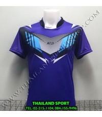 เสื้อกีฬา NAP SPORT รุ่น 16 (สีม่วง) พิมพ์ลาย