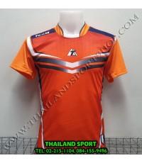 เสื้อกีฬา ที-ทีม  T-TEAM  รุ่น 09 (สีส้ม) พิมพ์ลาย