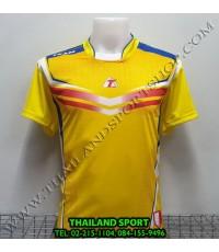 เสื้อกีฬา ที-ทีม  T-TEAM  รุ่น 09 (สีเหลือง) พิมพ์ลาย