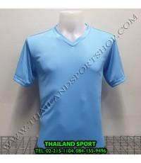 เสื้อกีฬาสี สีล้วน matador md-101 (สีฟ้า)