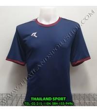 เสื้อกีฬา เรียล REAL รุ่น RAX-016 (สีกรม DU)