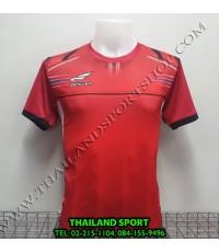 เสื้อกีฬา ซิวเวอร์ zerlver sport รหัส a5016 (สีแดง ra) พิมพ์ลาย