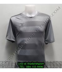 เสื้อกีฬา เอฟ บี ที  fbt รุ่น 12-267 (สีเทา) ผ้าพิมพ์ลาย