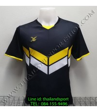 เสื้อกีฬา เอฟ บี ที  fbt รุ่น 12-261 (สีดำ) ผ้าพิมพ์ลาย