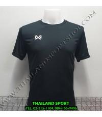 เสื้อกีฬา วอริค warrix รหัส wa-fba571 (สีดำ aa)