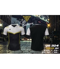 เสื้อกีฬา เวอร์ซูส versus รุ่น va-1104 (สีดำ) พิมพ์ลาย