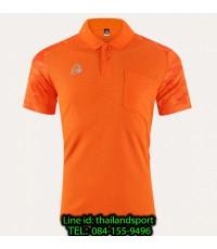 เสื้อโปโล polo shirt  อีโก้ รุ่น eg 6157 (สีส้มแสด) man
