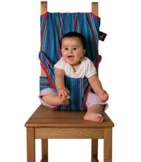 ที่นั่งผ้ารัดตัวเด็ก ประคองตัวเด็กนั่งเก้าอี้ (Ass.Baby High Chair) ยี่ห้อ ToTseat แบบที่ 2 ลายเส้นส