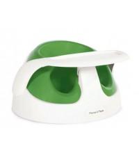 เก้าอี้หัดนั่ง Baby Snug พร้อมถามวางอาหาร ยี่ห้อ MAMASPAPAS สีเขียว Apple เก้าอี้หัดนั่งที่ดีที่สุด