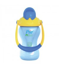 ถ้วยพร้อมหลอดดูด Goin Out รุ่น Pur Natural Extension Straw Cup with Handle ขนาด 8 ออนช์ สำหรับเด็กวั
