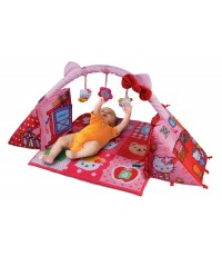 บาะรองนอน และกล่องกิจกรรม สุดคุ้ม ซื้ออย่างเดียวได้ถึง 2 เลยค่ะ Hello Kitty 2 In 1 Playmat Cube