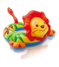 ห่วงยางเด็กเล็ก INTEX สำหรับ 3-6 ขวบ รุ่น Deluxe swimming Animal Ring ลาย ZooZoo สิงโต