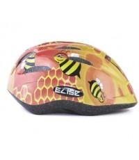 หมวกกันน๊อคเด็ก สำหรับใส่ป้องกันศรีษะเด็ก (ลายสีส้ม) แบรนด์ ELISE KID