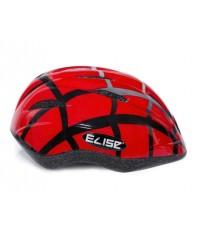 หมวกกันน๊อคเด็ก สำหรับใส่ป้องกันศรีษะเด็ก (ลายสไปรเดอร์ สีแดง) แบรนด์ ELISE KID