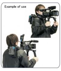 IDX Shoulder Hand Grip with V-mount  set for Canon 7D - 5D Mark II