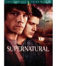 Supernatural Season 3  ล่าปริศนาเหนือโลก ปี 3 [5 DVD พากย์ไทย+บรรยายไทย]  พิเศษเพิ่มเสียงไทย