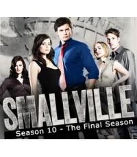 Smallville Season 10 (Final Season) สมอลวิลล์ ผจญภัยหนุ่มน้อยซูเปอร์แมน ปี 10 / 3 DVD พากย์ไทย