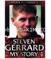 DVD STEVEN GERRARD MY STORY 1DVD