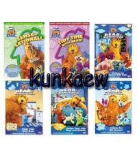 Bear in the Big Blue House 12 disc+ 1 cd audio