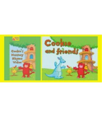 VCD Cookie's Nursery Rhyme Video + Cookie and Friends จำนวน 2 แผ่น