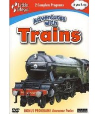 LITTLE STEPS-ADVENTURES WITH TRAINS