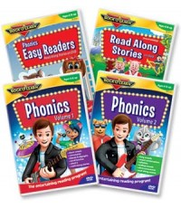 DVD: Rock \'N Learn - Phonics Easy Readers Read along story and Alphabet